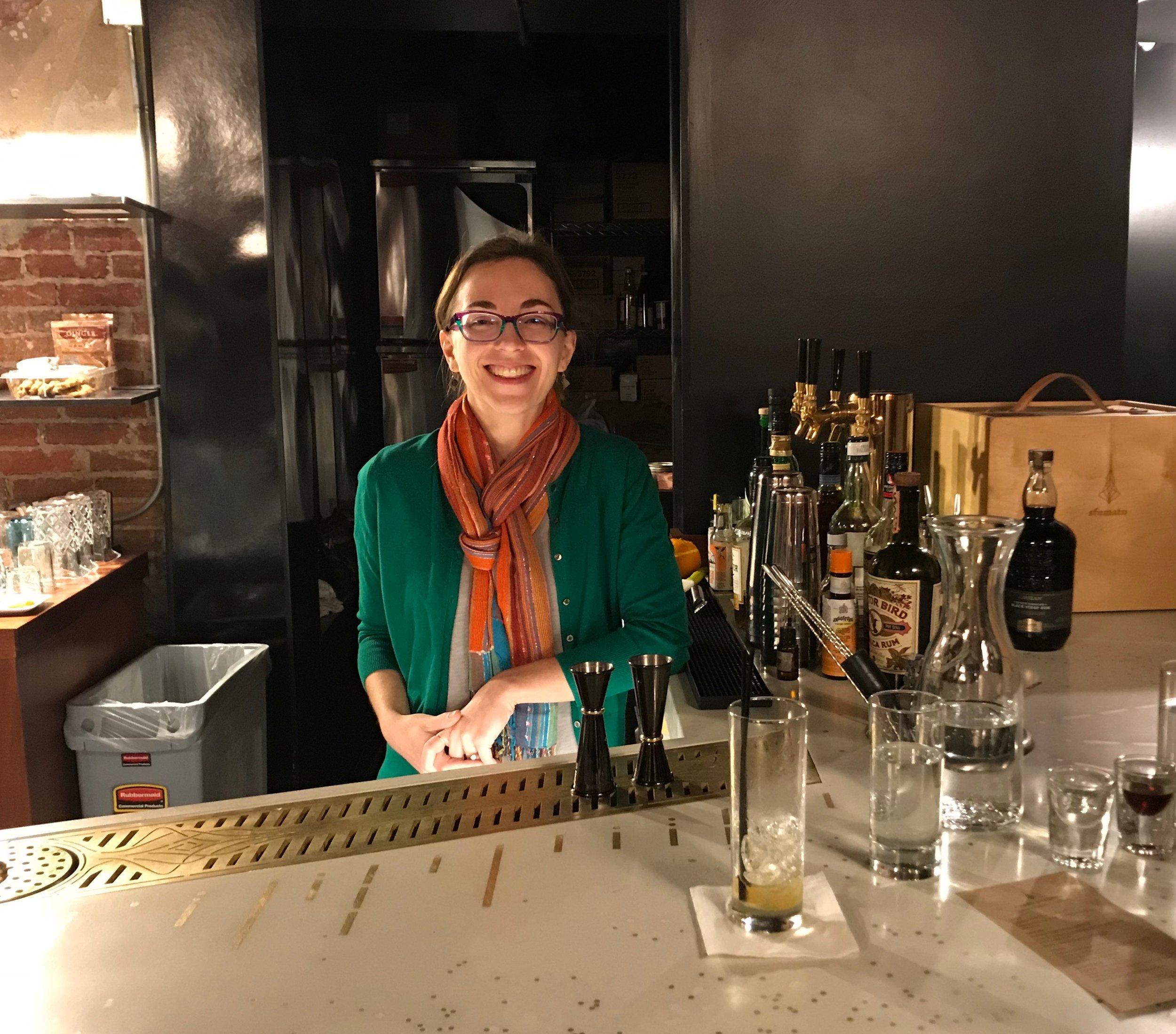 Entrepreneur Jane Larson of Sfumato Fragrances & Castalia Scented Cocktail Bar in Detroit, Michigan