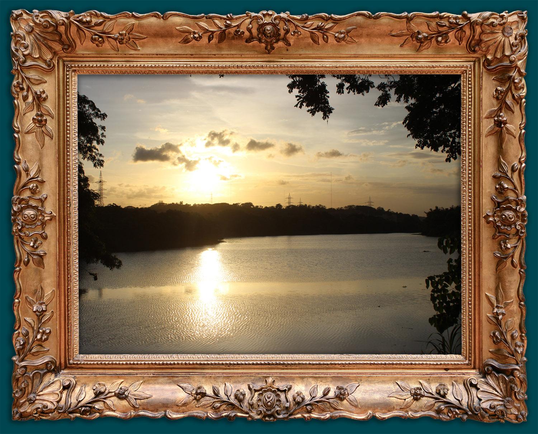 Sunset at ...