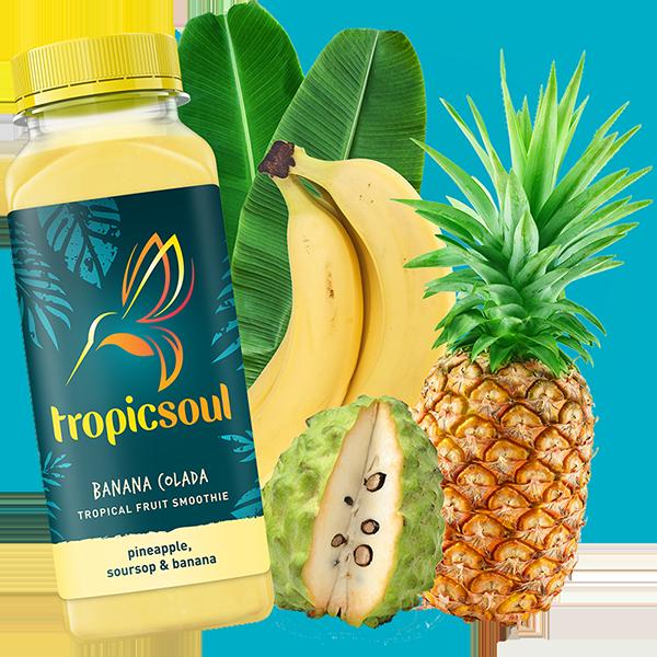 Banana Colada - Pineapple, soursop & banana