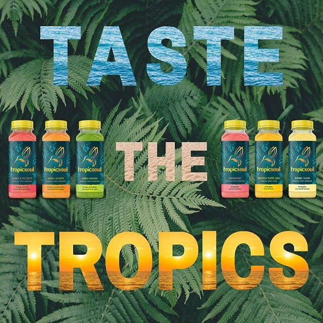 Taste the tropics my My Tropicsoul! ☀️ . While we can't bring the endless sun and palm trees to the UK, we can bring you the taste of the finest tropic fruits.🥭🍌🍒🍍🥥 . Visit our website to find your nearest UK stock is - link in bio. • • • • • #paradisefound #tropical #fruit #smoothie #healthyfood #healthylifestyle #fitspo #Caribbean #banana #pineapple #kale #acreola #mango #coconutwater #coconutwateraddict #mint #passionfruit #guava #ginger #beetroot #soursop #dominicanrepublic #fairtrade #ethical #ethicalbrand #ethicalshopping #foodie #tasteparadise #thetruetasteofthetropics