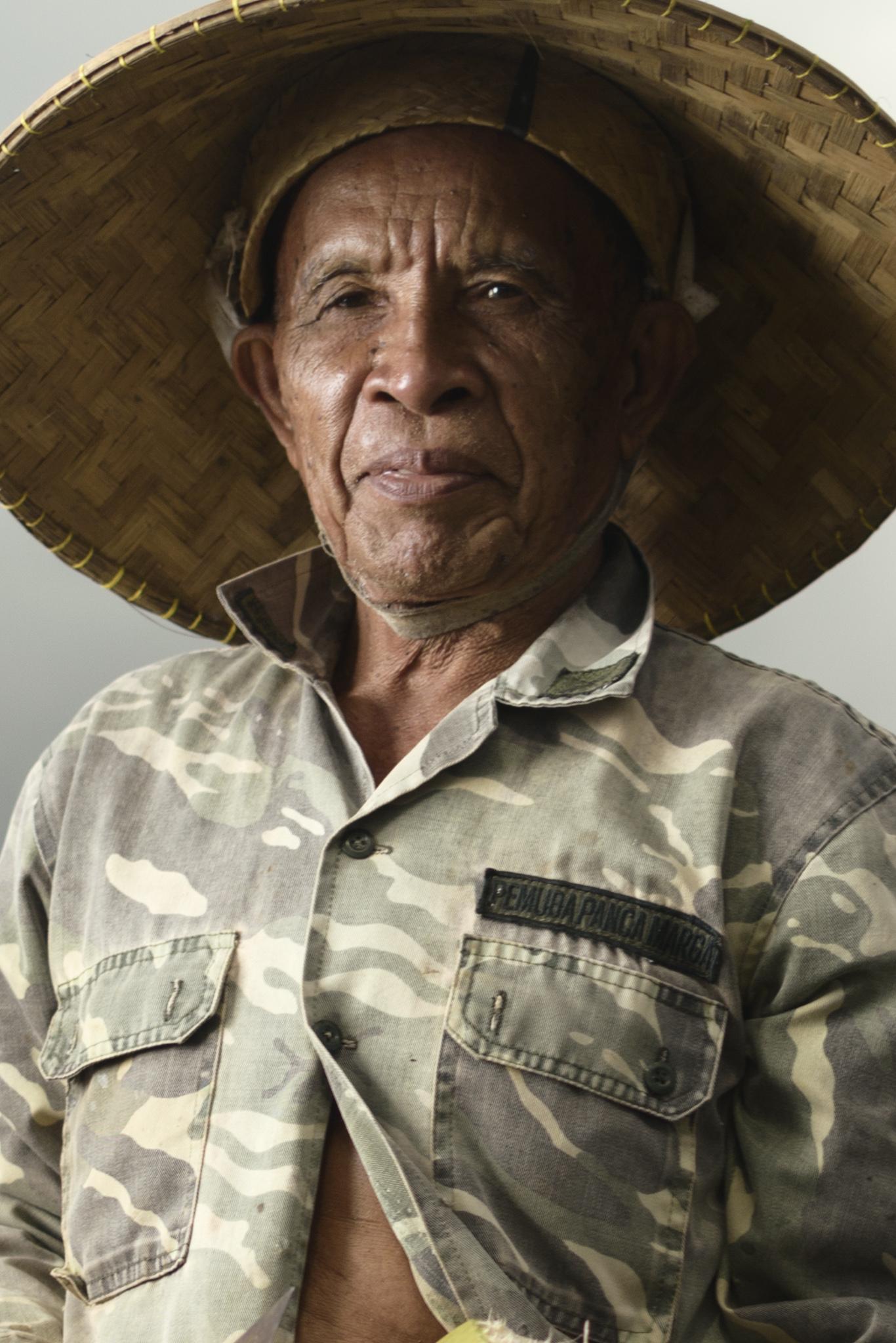 Chief farmer, Tabanan, Bali