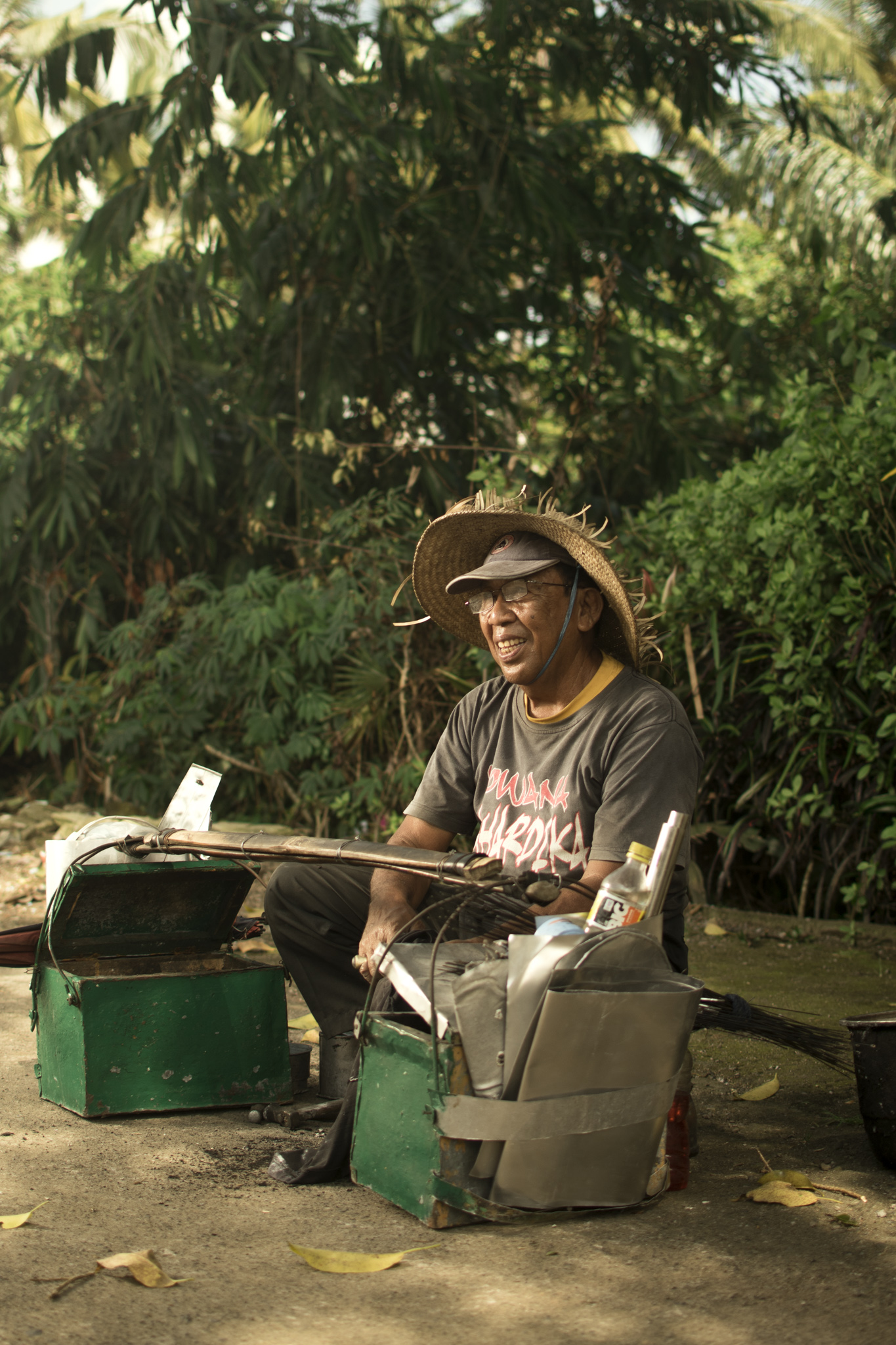 Villager, Jegu Penebel, Bali, Tabanan