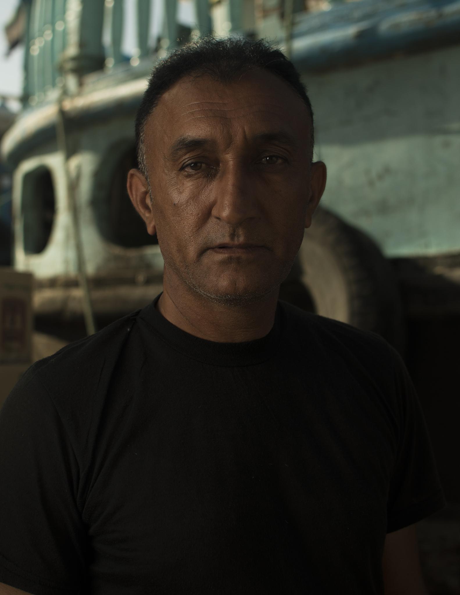 Dock worker, Deira, Dubai
