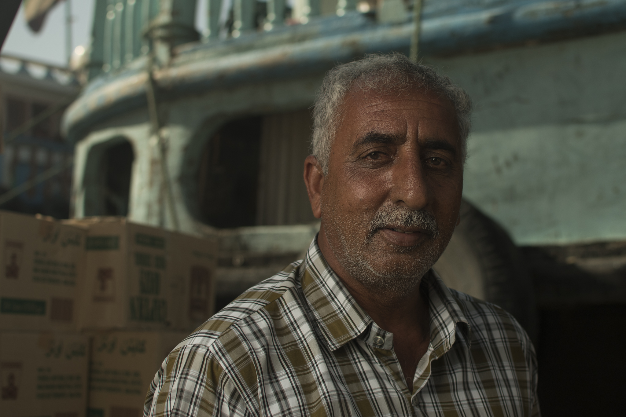 Dock worker, Deira Dubai