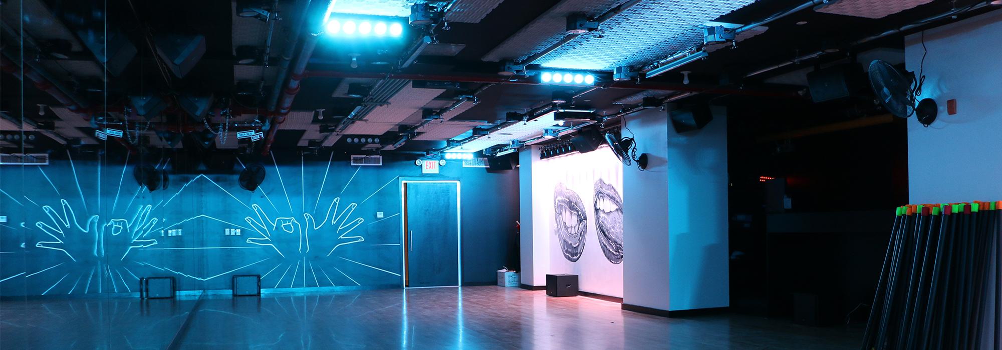 305 Fitness studio space
