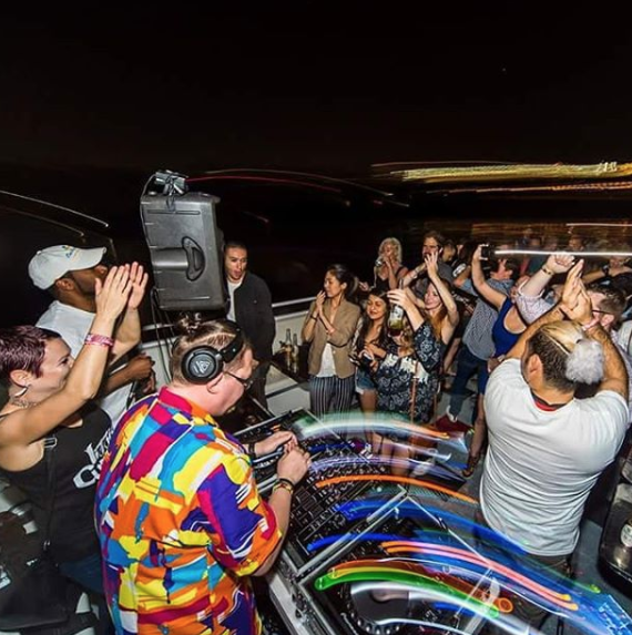 305 Fitness DJ Mark Pieman Party