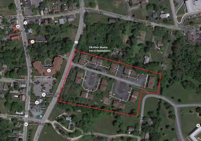 Elk River Manor North East, MD - Units: 79Land Area: 5.01 AcresBuilding Type: Ten Garden (walk-up) BuildingsPlaced in Service: Fall 2018