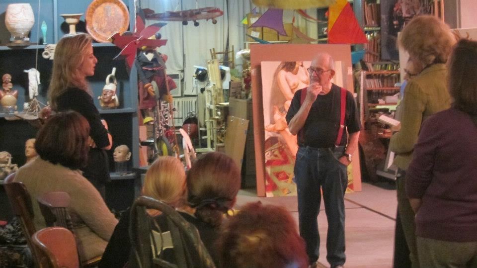 Inside the Studio with Philip Pearlstein