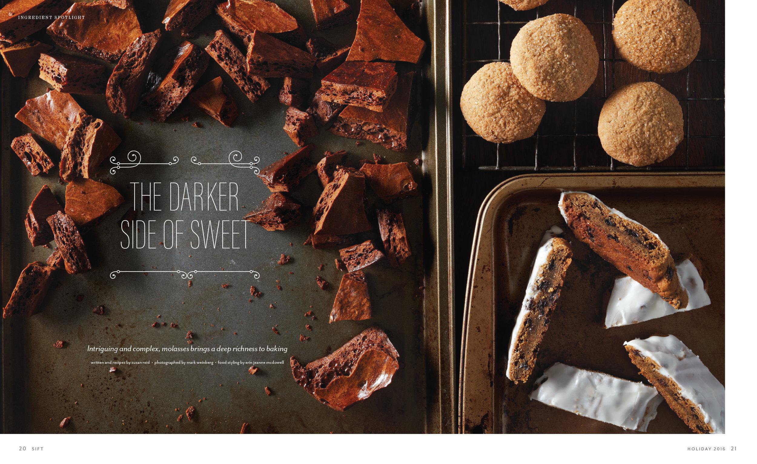 Molasses feature Sift magazine