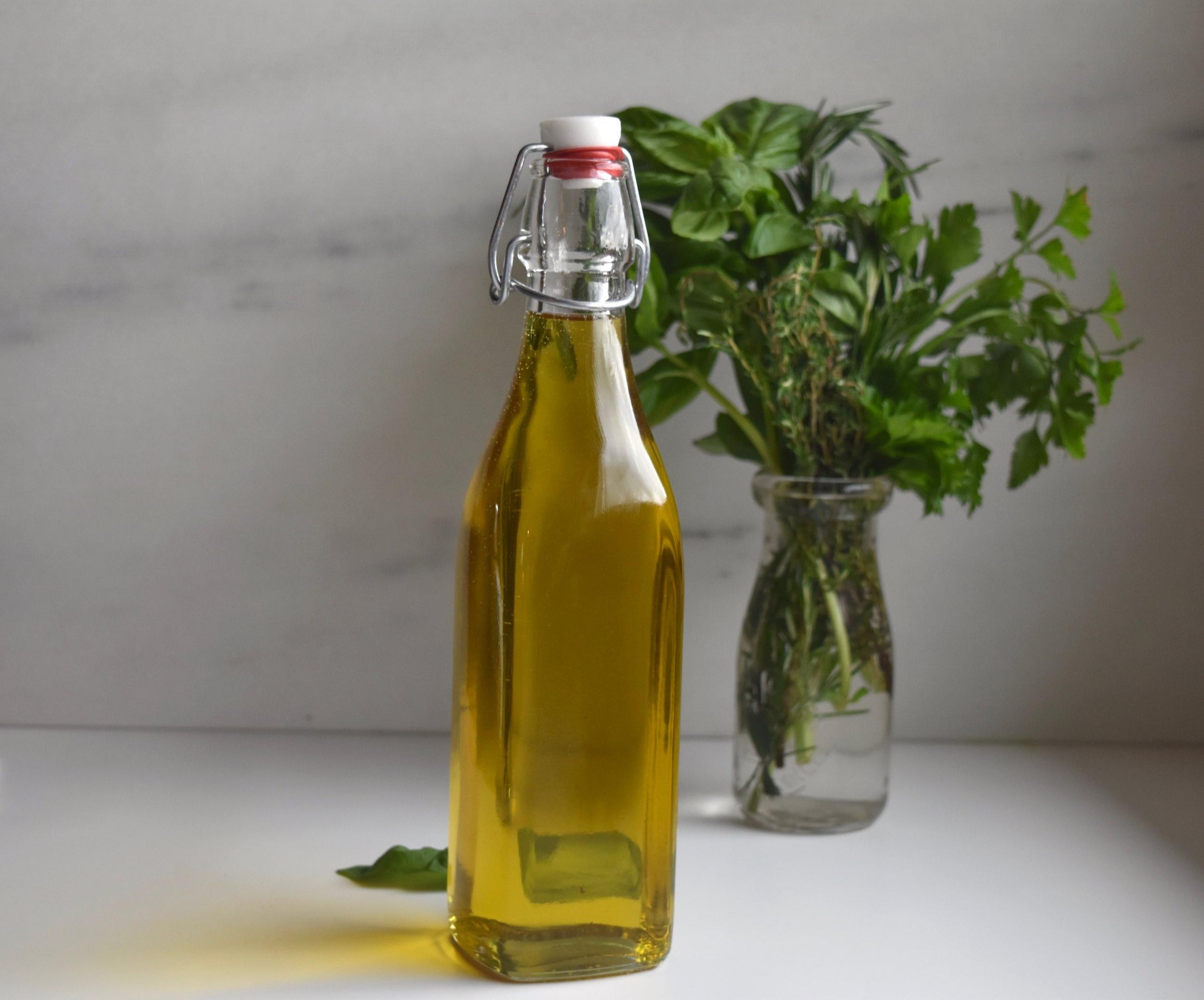 Herb oil hero