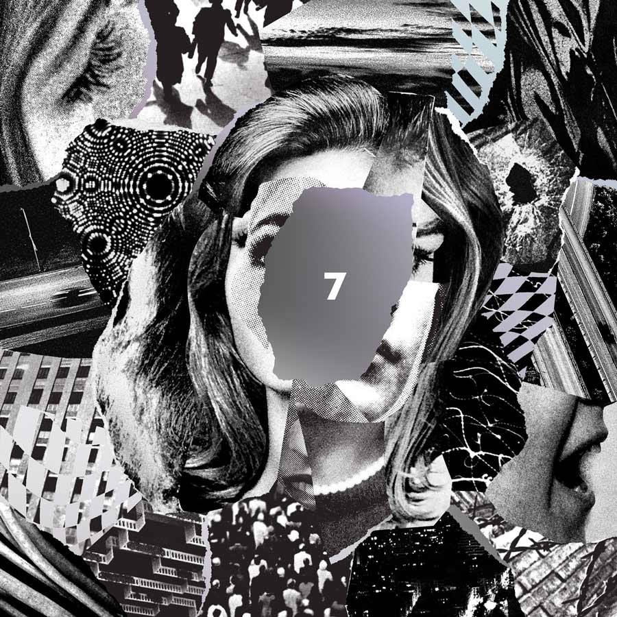 Beach House - 7 - With Beach House's unexpected rise to stardom with Bloom, they continued on that dream-pop tunnel of afterlife with their seventh album, aptly named 7.