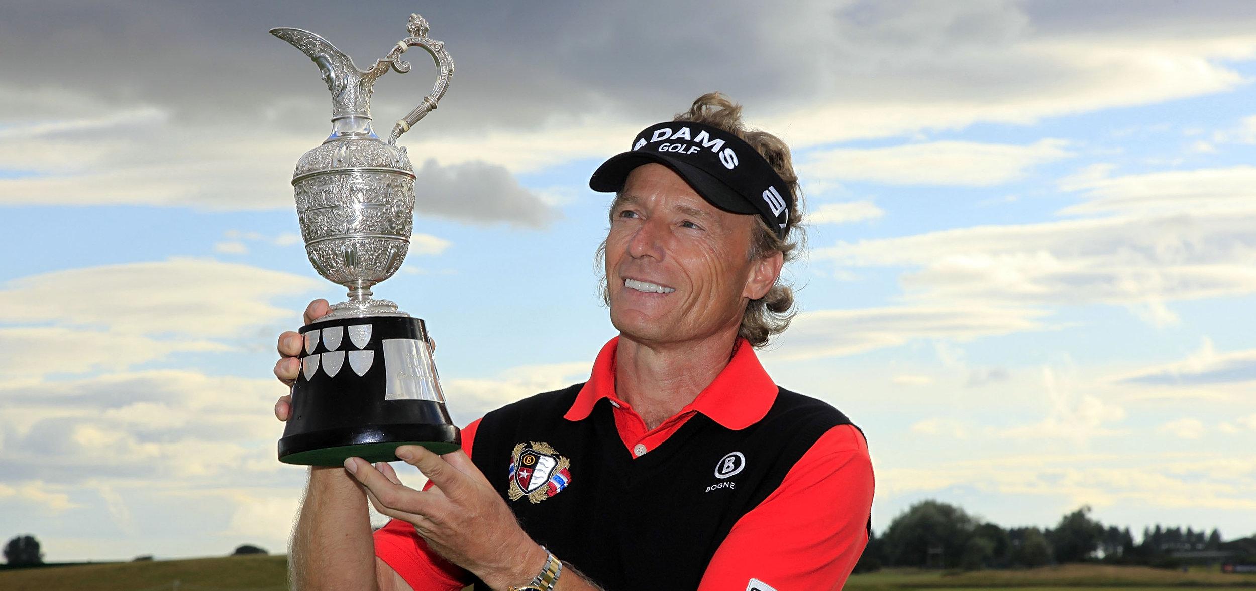 Bernhard Langer - Professional Golfer, two time Masters winner on the PGA Tour, winner of the 2010 Senior Open Championship and U.S. Senior Open, 2014 Constellation Senior Players Championship and the 2014 Senior Open Championship.
