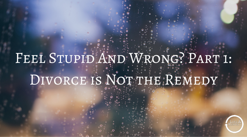 Feel-Stupid-And-Wrong-Part-1-Divorce-is-Not-the-Remedy.png