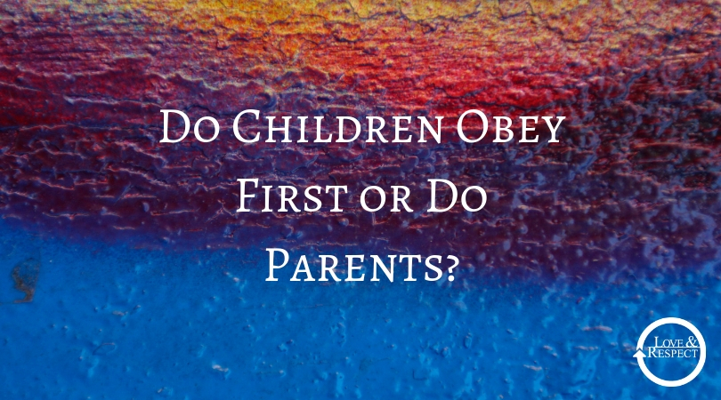 Do Children Obey First or Do Parents