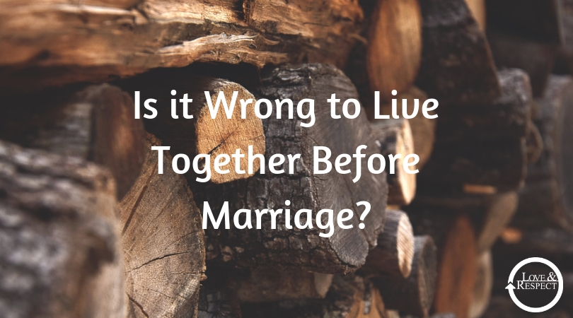 Is it Wrong to Live Together Before Marriage