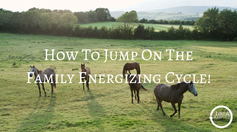 How To Jump On The Family Energizing Cycle!