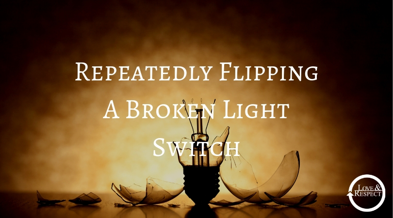 Repeatedly Flipping A Broken Light Switch