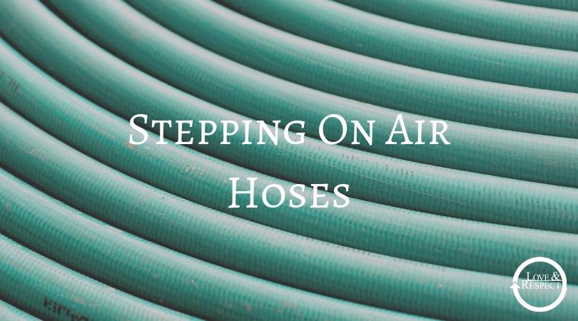 Stepping On Air Hoses