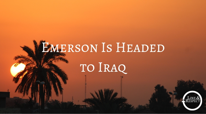 Emerson Is Headed to Iraq