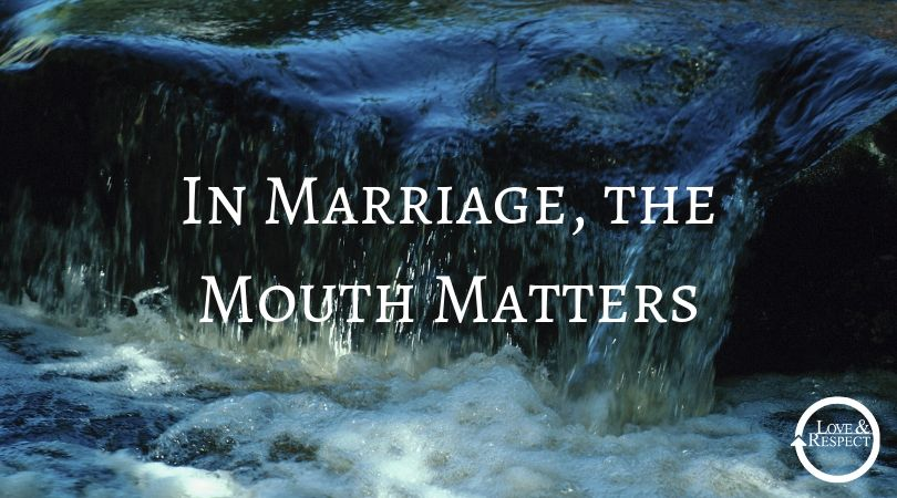 In Marriage, the Mouth Matters