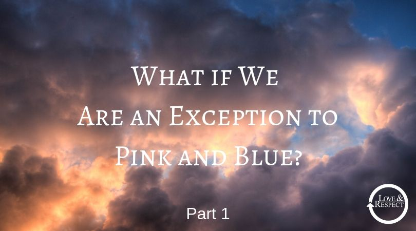 What if We are an Exception to Pink and Blue? Part 1