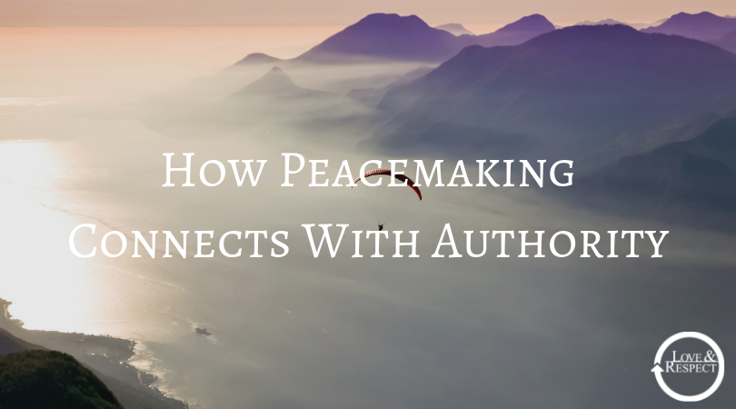 How Peacemaking Connects With Authority