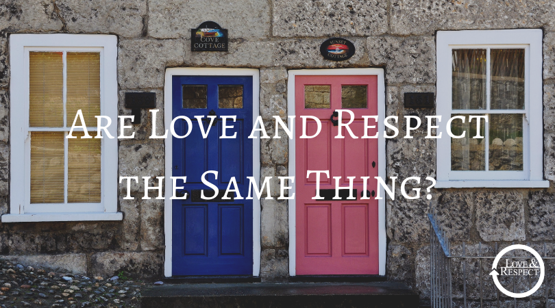 Are Love and Respect the Same Thing?
