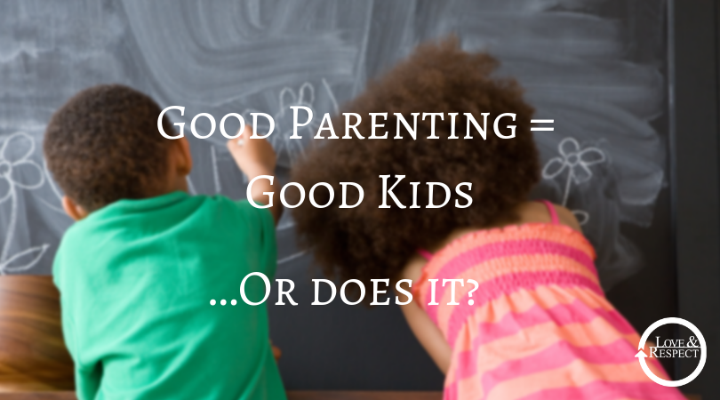 Good Parenting = Good Kids   …Or does it?