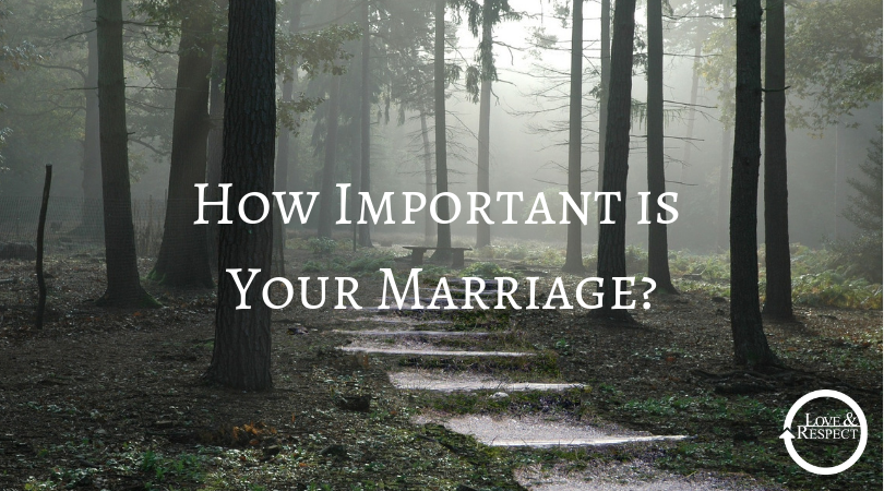 How Important is Your Marriage?