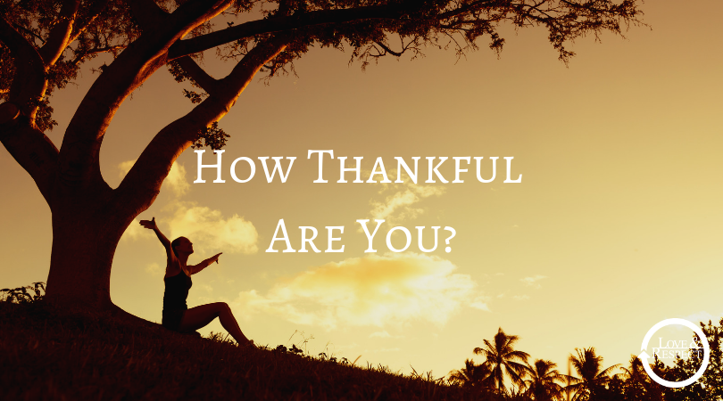 How Thankful Are You?