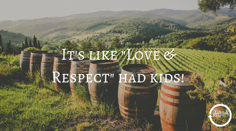 "It's like ""Love & Respect"" had kids!"