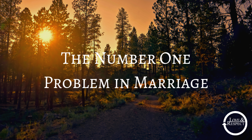 The Number One Problem in Marriage