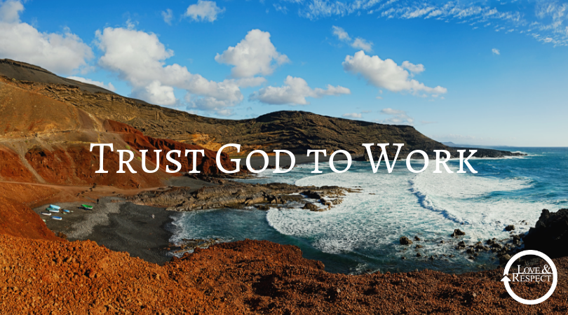 Trust God to Work