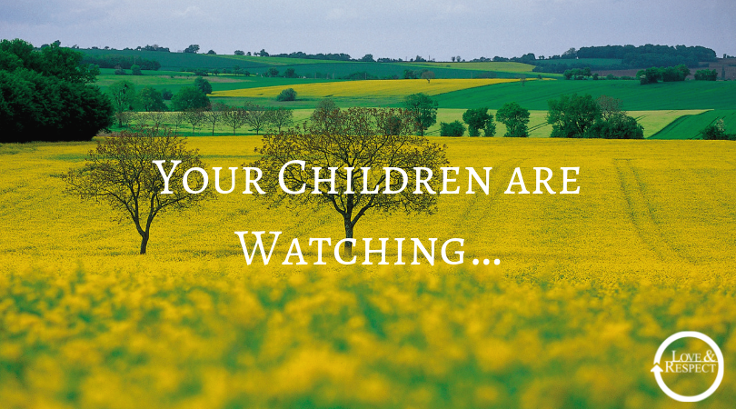 Your Children are Watching….