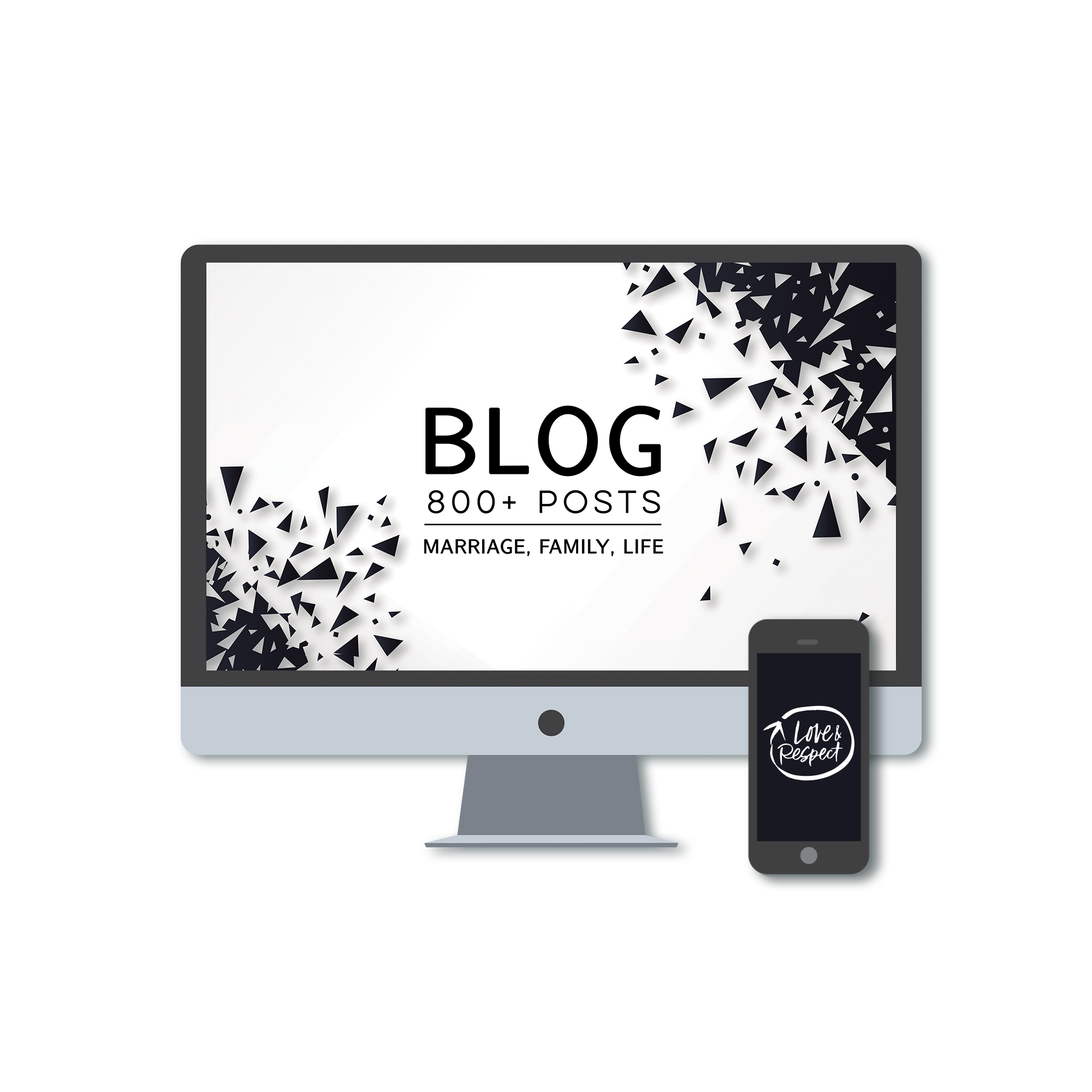 Blog - 800+ Posts! - From Marriage and Family, to Faith and Work, browse or read hundreds of topics and posts that may speak to a question or concern that you have based on your situation, add to what you have read or seen from Love & Respect, or introduce you to the concepts. We hope you learn and are encouraged through this free resource.