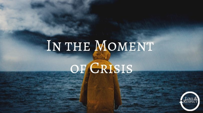 In the Moment of Crisis