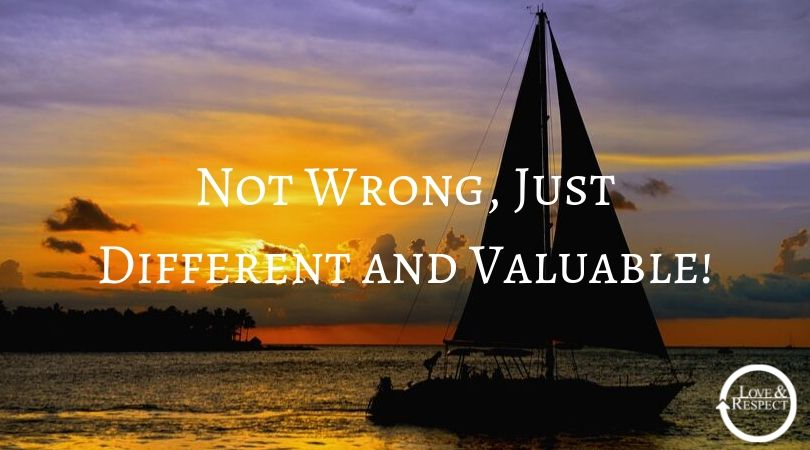 Not Wrong, Just Different and Valuable!