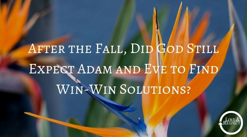 After the Fall, Did God Still Expect Adam and Eve to Find Win-Win Solutions