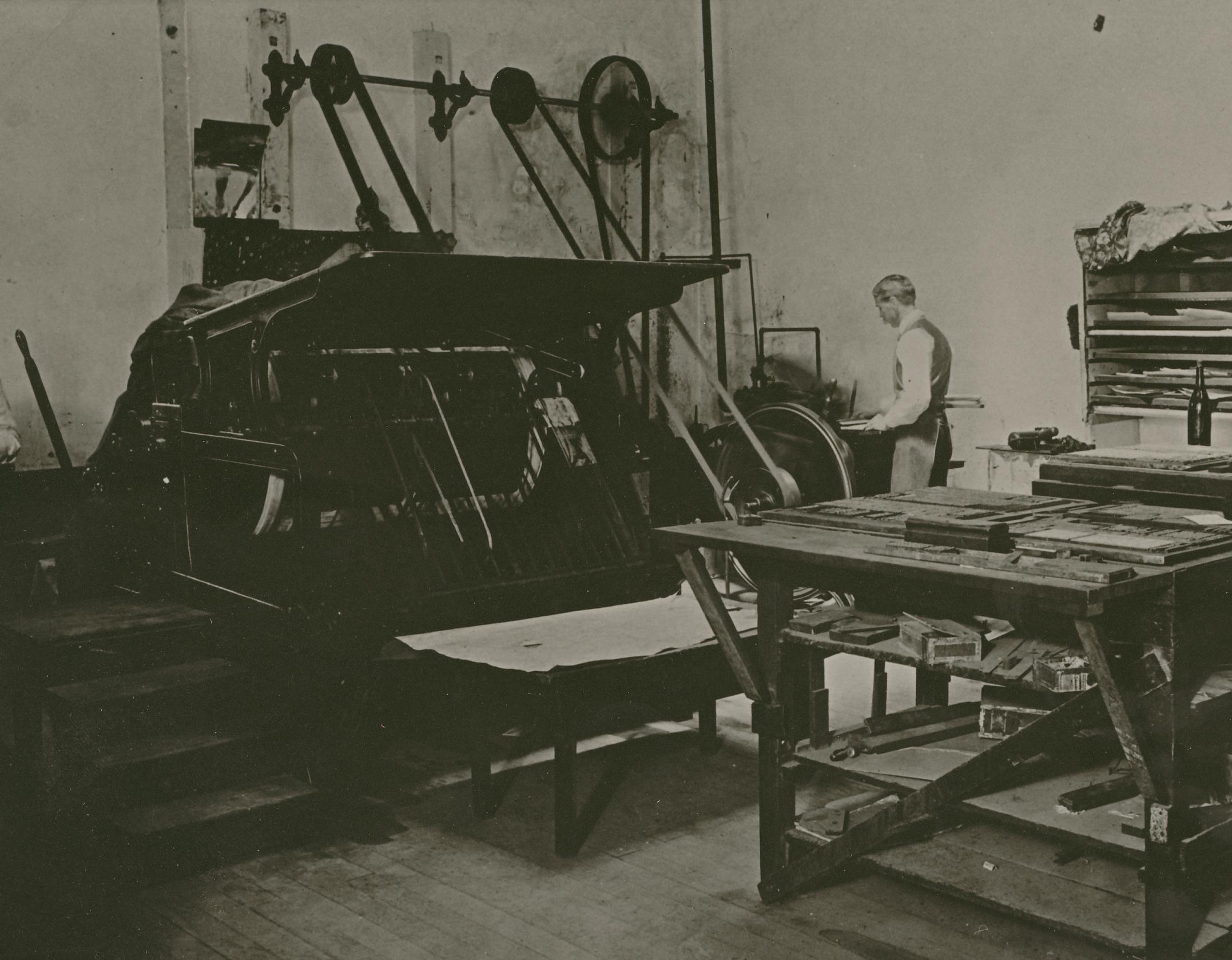 Tribune Printing Press