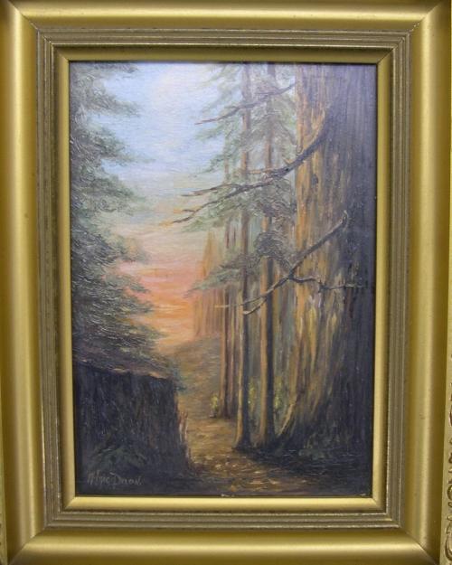 Alice Haigh Dixon painting