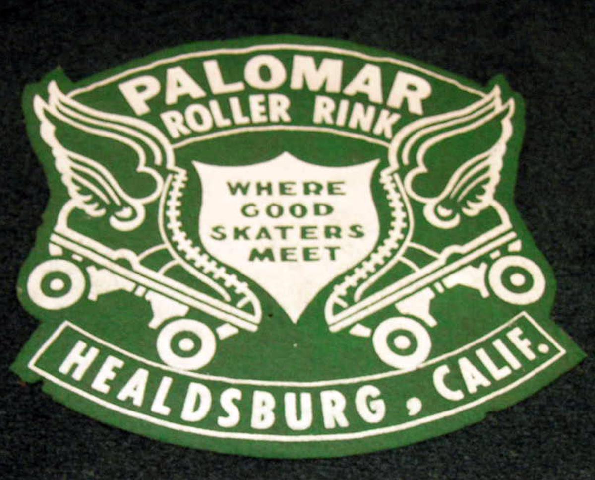 Palomar felt skating patch