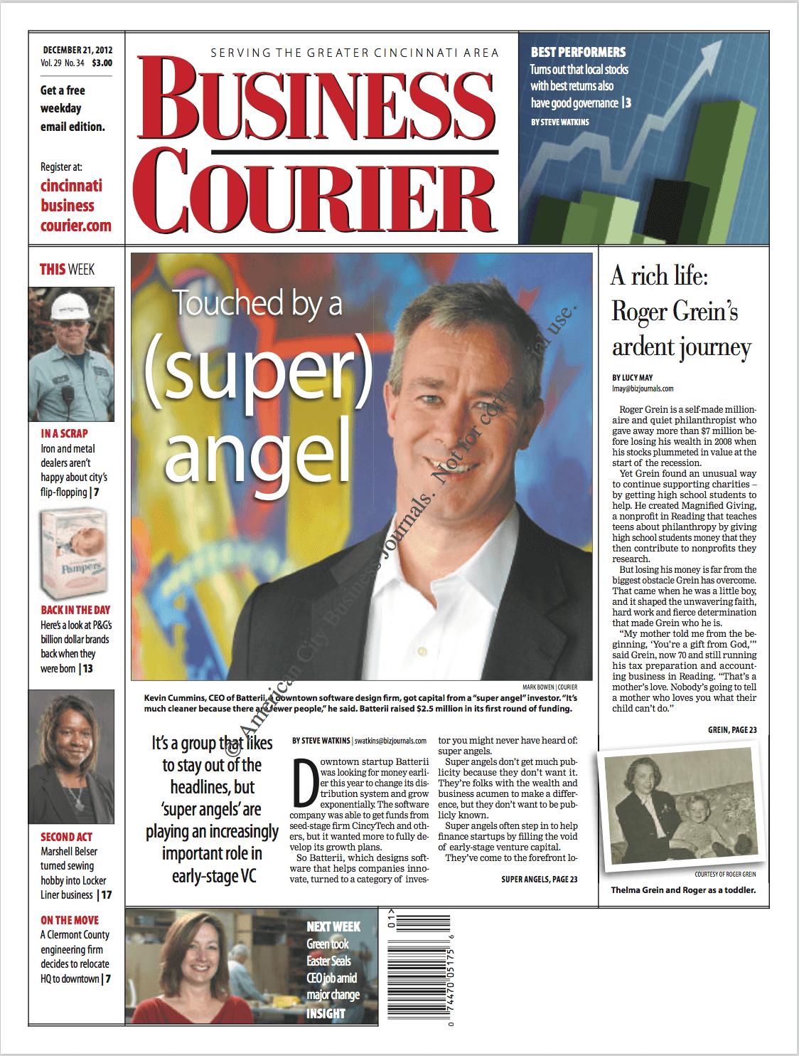 Cincinnati Business Courier  December 2012