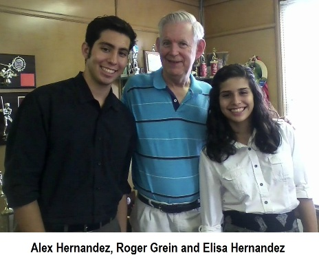 Student Articles   An Interview with Roger Grein  By Alex Hernandez