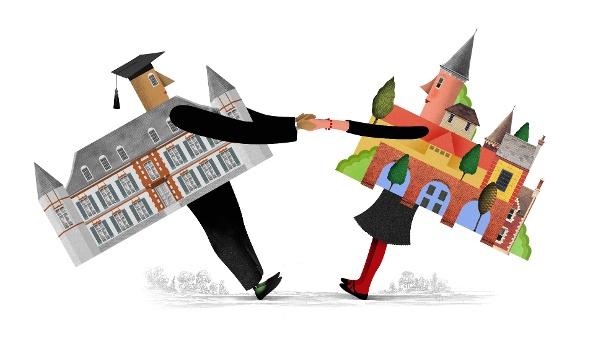How Can Universities Strengthen Town-Gown Relations? - Higher Ed Facilities Forum blog, December 2017.