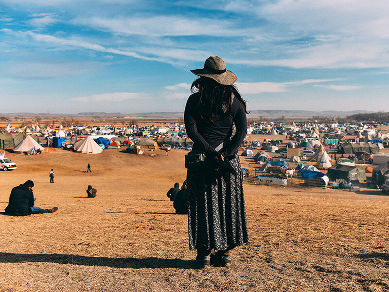 The Soul Tender: Laure Porche On Her Standing Rock Experience - Spirit Guides Magazine, June 2017.