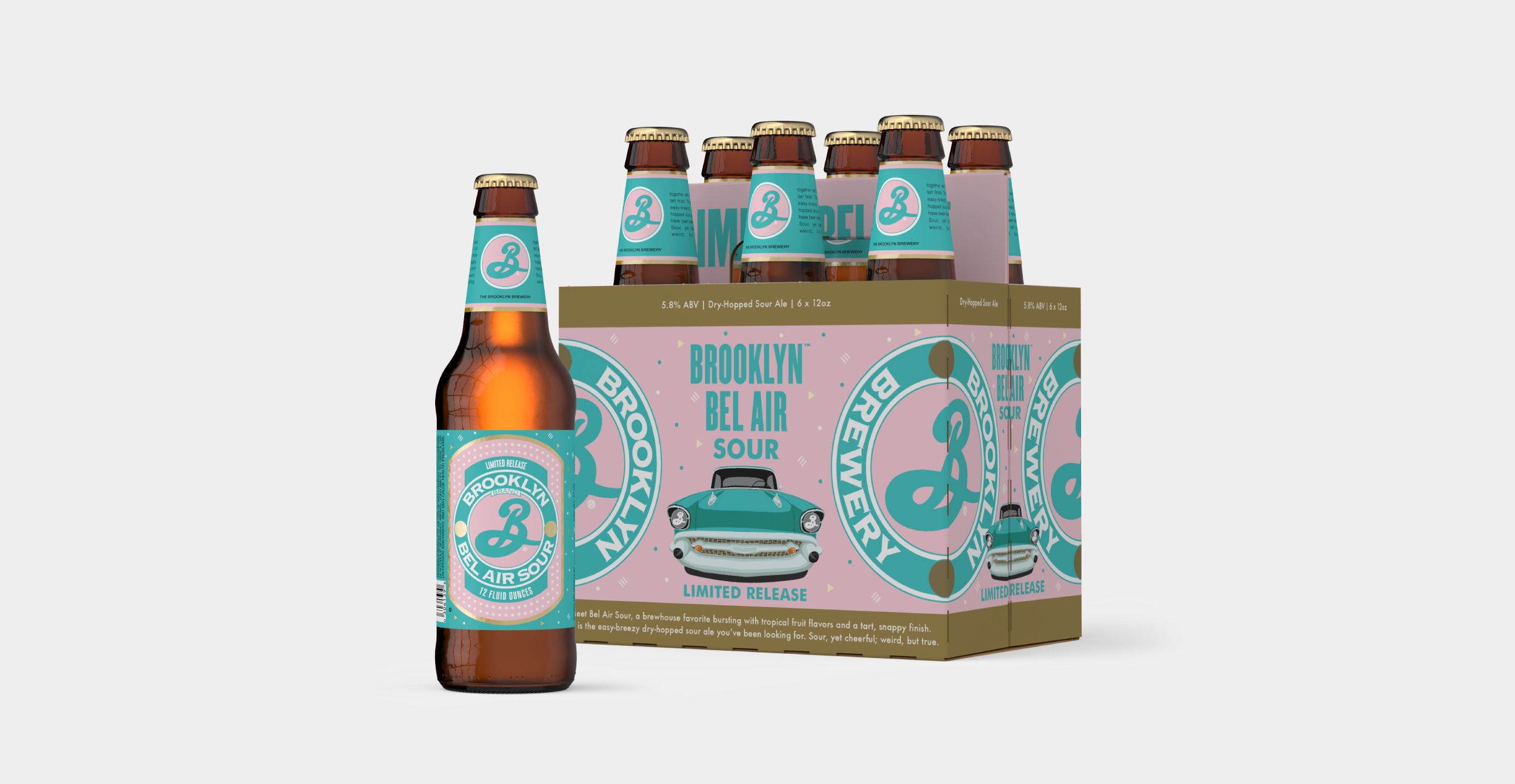 Beer label and packaging design for craft brewery Brooklyn.
