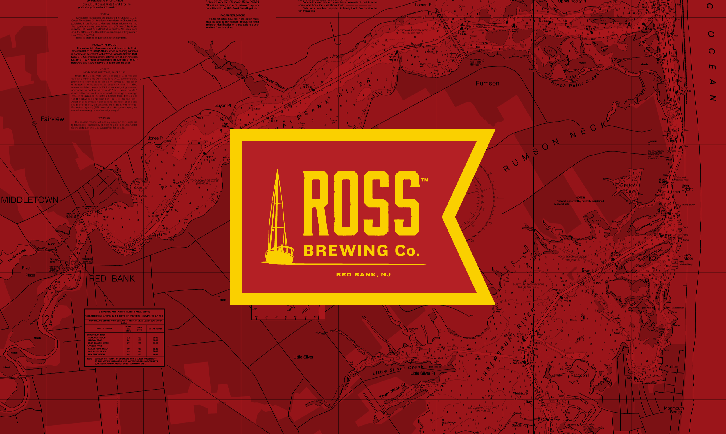 Ross Brewing Co. logo designed by Knockout! Studio