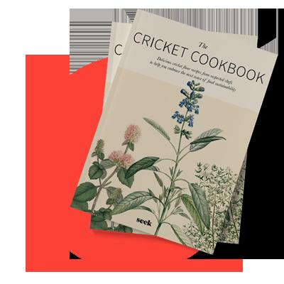 Knockout! designed a cookbook for food brand Seek.