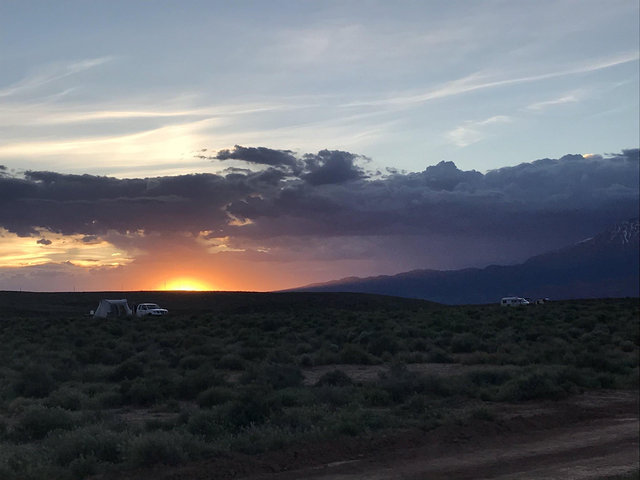 One last sunset.