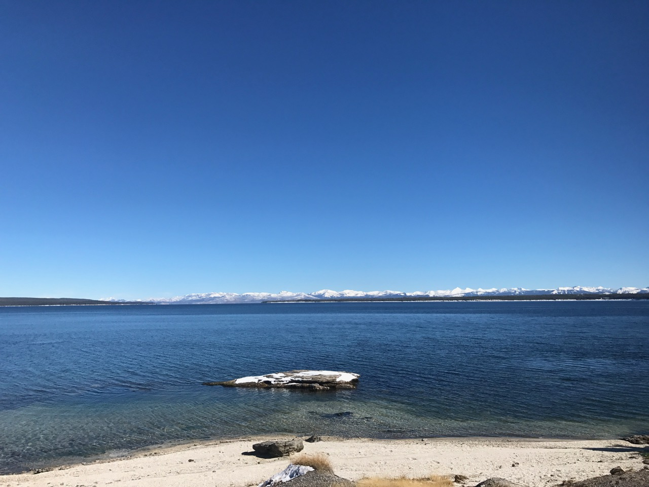 The West Thumb of Yellowstone Lake